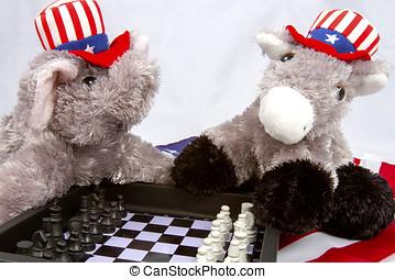 politikai, sakkjáték játék