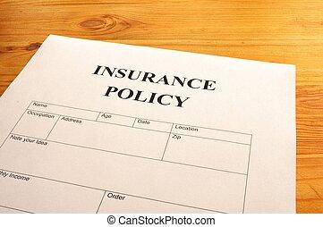 politique, assurance