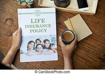 politique, assurance-vie, famille