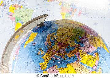 politisk, geografi
