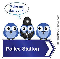 polizeiwache, zeichen