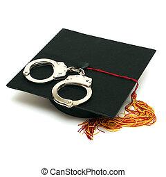 polizia, laureato