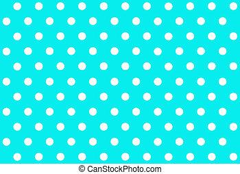 Polka dot background - Blue polka dot background
