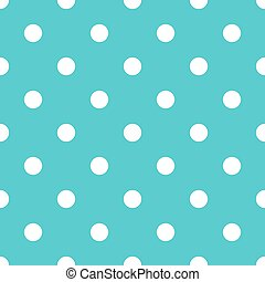 Polka dot blue pattern