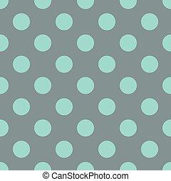 Polka dot blue pattern
