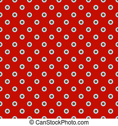 Polka dot on colorful background