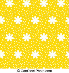 Polka Dot Pattern, Seamless Vector Background.  abstract seamless pattern with dots for print and web projects