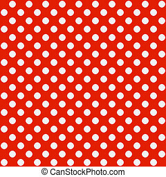 Polka dot pattern - Seamless vector illustration