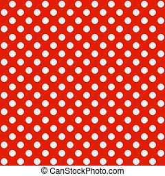 Polka dot pattern - Seamless vector illustration