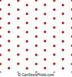 Polka dot seamless pattern background