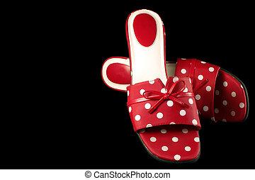 Polka-dot Shoes 2