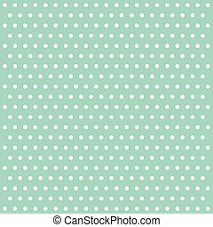 Polka dot vintage background illustration