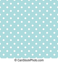 Polka dots blue pattern.