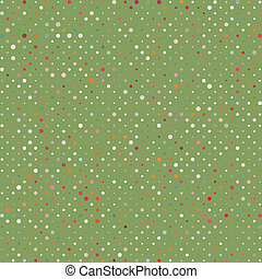 Polka dots colorful abstract pattern. EPS 8