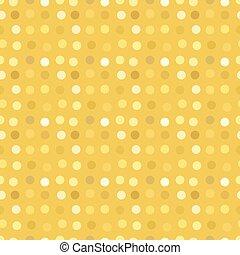 Polka dots gold glitter