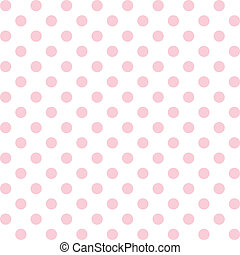 Polka Dots, Pastel Seamless Pattern - Seamless pattern of...