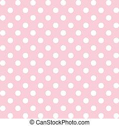Polka Dots, Pastel Seamless Pattern