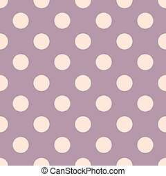Polka dots pink and purple colors background