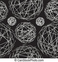 polka, pattern., seamless, elegante, texture., puntino