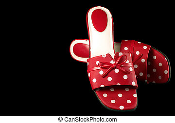 polka-point, 2, chaussures