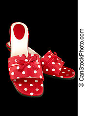 polka-point, 3, chaussures