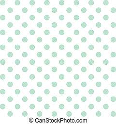 polka prik, pastel, seamless, mønster