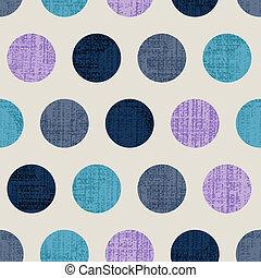 polka, seamless, colorito, textured