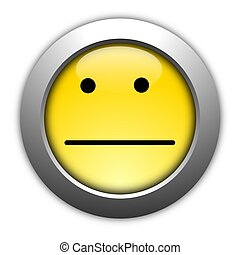 poll or customer satisfaction survey concept with smilie...