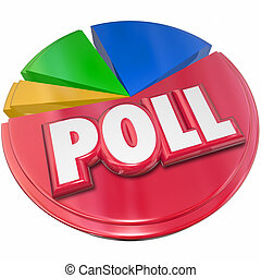 Poll Survey Results Voting Election Opinion - Poll word in...