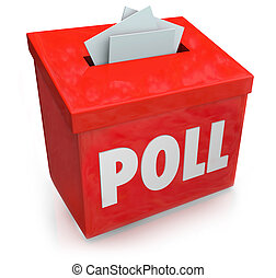 Poll Survey Submission Entry Box Answer Questions Vote - ...