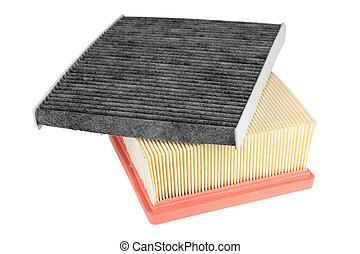pollen filter and air engine filter