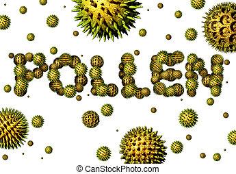Pollen grains concept as a group of microscopic organic ...