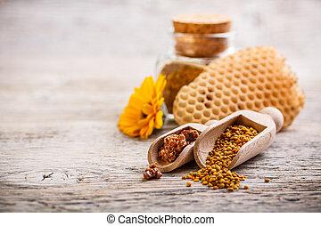 pollen, propolis