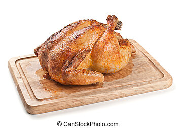 pollo, arrostito