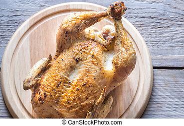 pollo, asado