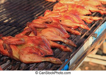 pollo asado parrilla