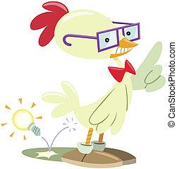 pollo, nerd