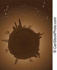 Pollution Earth