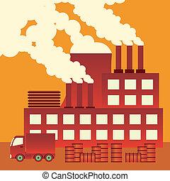 pollution., luft