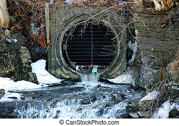 Pollution - sewage water