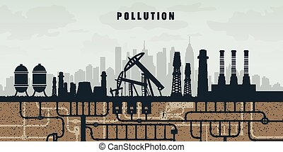 pollution the environment by plants