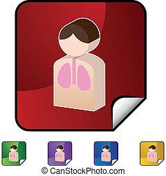 polmone, paziente