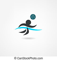 polo acqua, icona