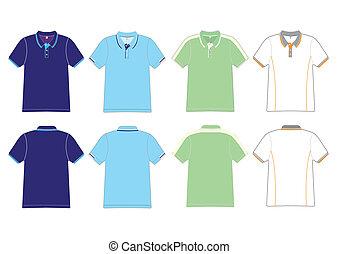 polo shirt design Vector template