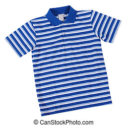Polo shirt. - Stripped shirt