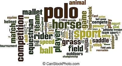polo, woord, wolk