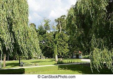 pologne, vert, parcs