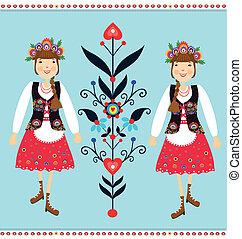 polonais, folklorique