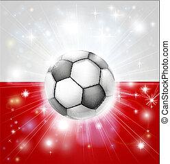 polonia, calcio, bandiera