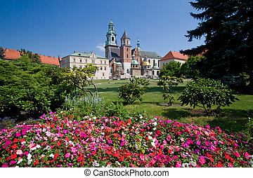 polonia, krakow, castillo, wawel